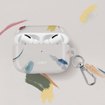 UNIQ|COEHL Reverie 彩繪筆刷設計全包覆防摔耳機保護殼 AirPods Pro