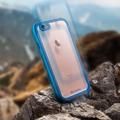 Richbox|極致防水保護殼 最輕薄防水神器 藍色 iPhone 7/8