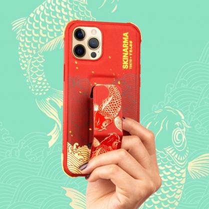 Skinarma 日本潮牌|Nami 魚躍龍門隱形支架防摔手機殼 iPhone12/12 Pro/12 Pro Max