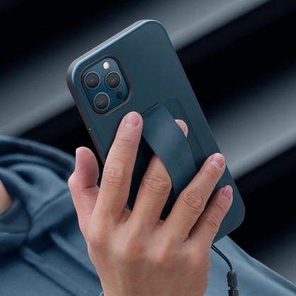UNIQ|Heldro 簡約彈性腕帶防摔手機殼(附掛繩) iPhone 12/12 Pro/12 Pro Max