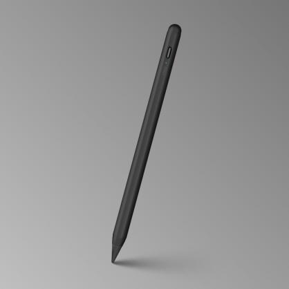 UNIQ|Pixo 質感充電主動式磁吸觸控筆 白色/黑色