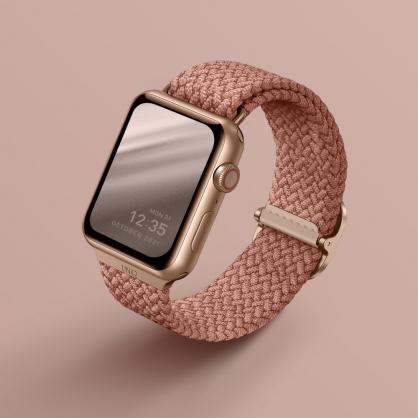 UNIQ|Aspen Apple Watch 防潑水高彈力編織單圈錶帶 38/40mm & 42/44mm