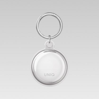 UNIQ|AirTag Glase 全包覆輕薄透明鑰匙圈保護套