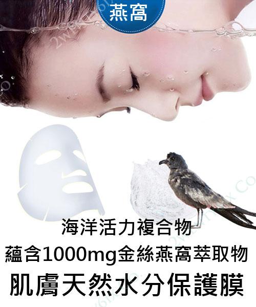 ★韓國 SNP ★ 金絲燕窩 保濕 急救 安瓶面膜 (10片/盒)