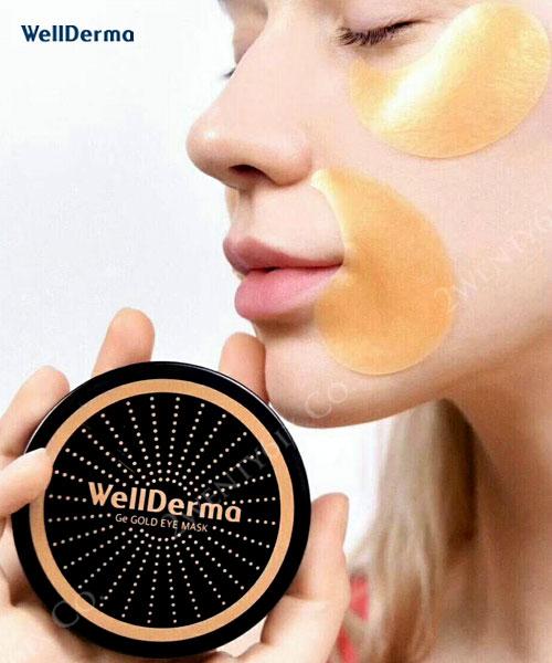 ★韓國 WellDerma 夢蝸 ★ 鍺元素 Ge Gold 黃金眼膜 (60片/盒)