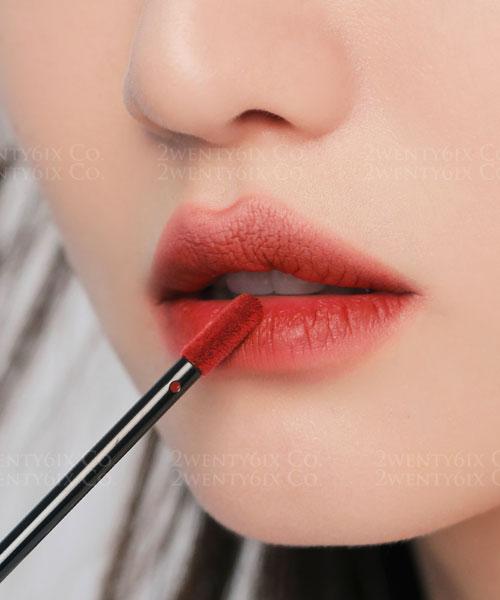 ★韓國 3CE ★ Velvet Lip Tint 霧面絲絨 王者唇釉色 #Tapue