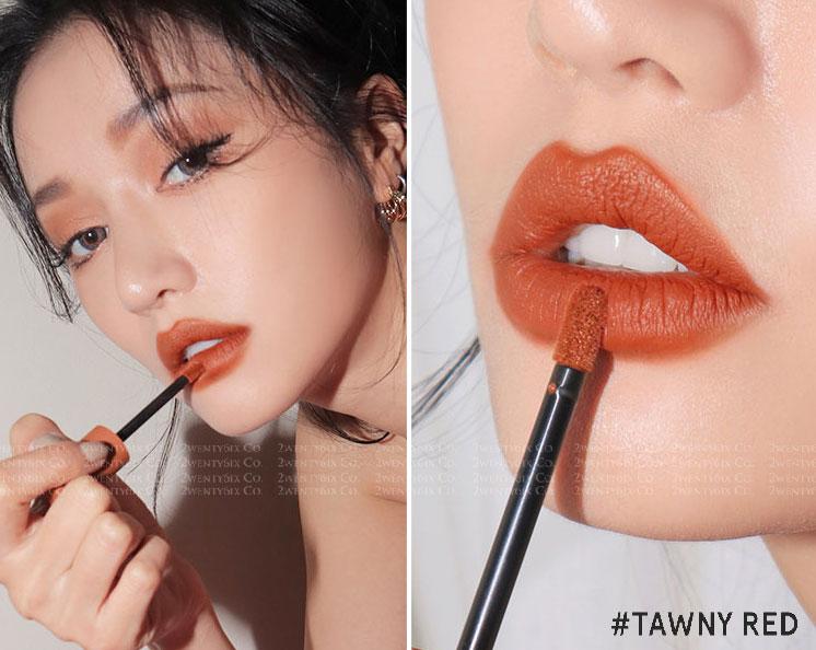 ★韓國 3CE ★ SOFT LIP LACQUER 魅力十色水唇釉 (水潤質地&霧面唇釉) 6g