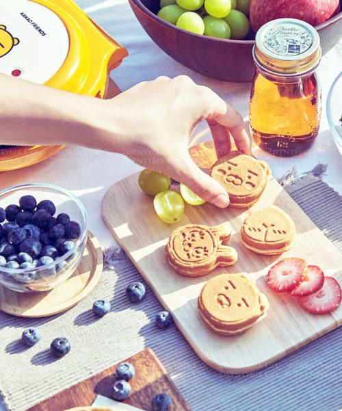 ★韓國LINE FRIENDS★萊恩Ryan限量可愛鬆餅機/麵包機 (附兩款模具)