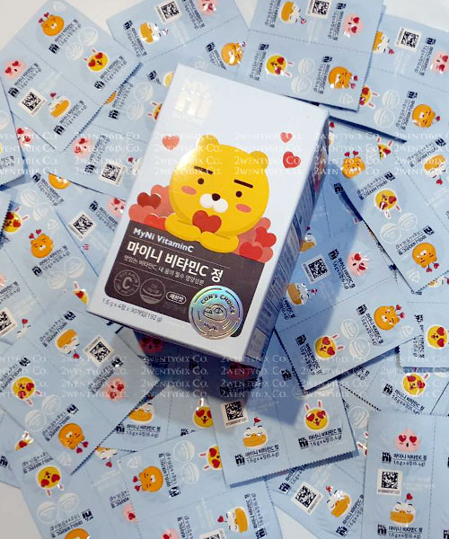 ★韓國Kakao Friends★超萌維他命C片 1600mg(108顆/盒)