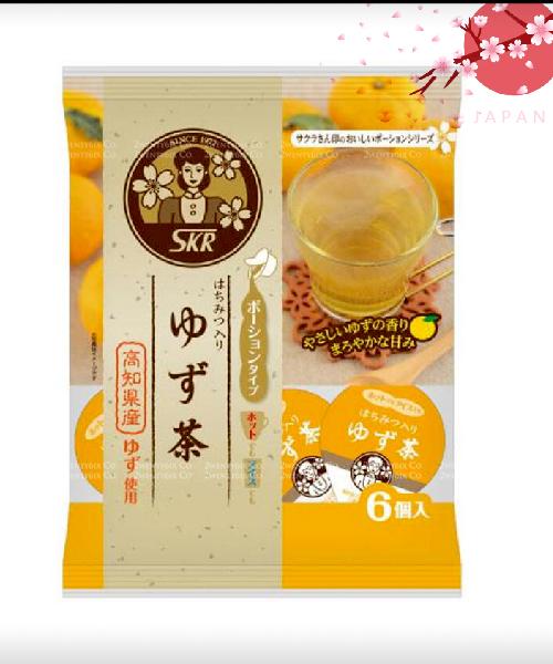 ★日本★SAKURA 高知縣 美味 蜂蜜柚子茶濃縮球 144g(24g×6個)