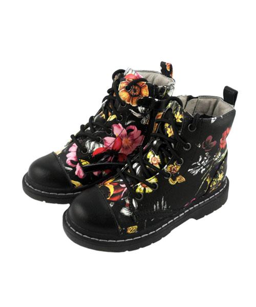 ★義大利進口Lelli Kelly★繽紛逸品☆暗黑秘密花園馬汀鞋 (現貨#26-35)
