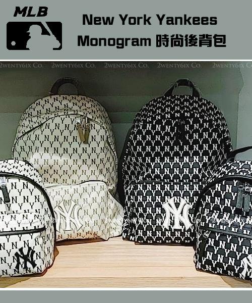 ★韓國正品MLB★NY Monogram大後背包&迷你背包