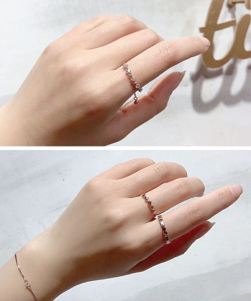 ★正韓★Daphne時尚造型可調整戒指 (兩款-開口2入組/ 抽繩款)