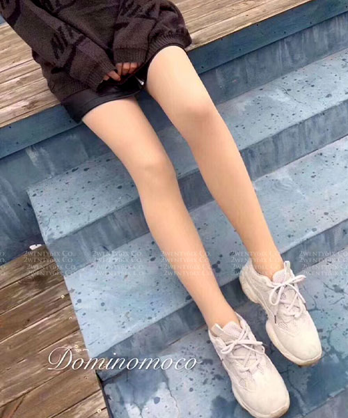 ★正韓Dominomoco★1200D冬季款塑形+顯瘦美腿牛奶襪(連腳/不連腳)裸膚逼真效果