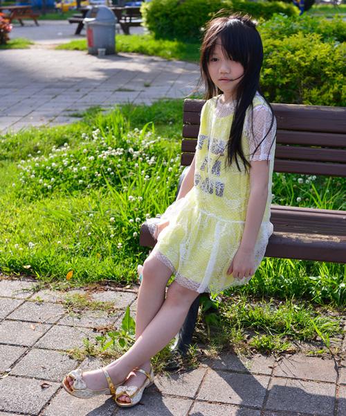 ★正韓★時尚甜美童話 x 亮鑽露趾小伴娘鞋 淑女鞋 (現貨 #170)