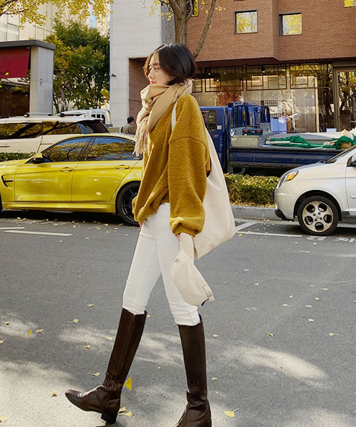 ★韓系★NIPOYA 時尚率性質感羊羔絨綿軟上衣