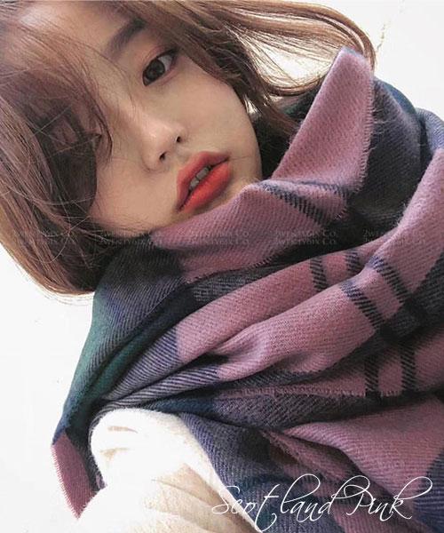 ★韓國★Candy Rush 甜美活力 糖果拼色雙袖寬鬆針織上衣 (兩色)
