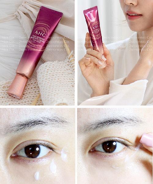 ★韓國 AHC★The Pure Eye Cream for Face 第八代全效膠原蛋白眼霜30ml (全臉可使用)