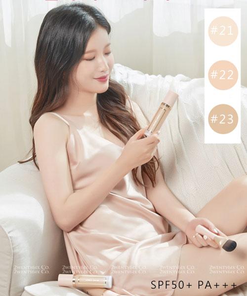 ★韓國 April Skin★第二代完美魔法(粉瓶水感)玻尿酸粉底液 32ml