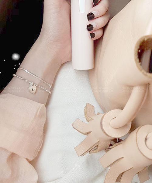 ★ 韓國 Kathy SN 925 純銀 ★ 經典簡約 時尚寬版蛇鍊手鍊 (兩色)