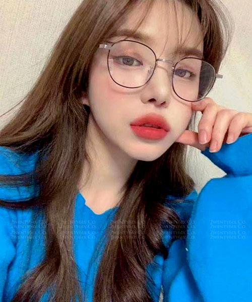 ★ 韓國 Cutie DN ★ 質感秀氣小圓框平光眼鏡(四款) &加購眼鏡皮套