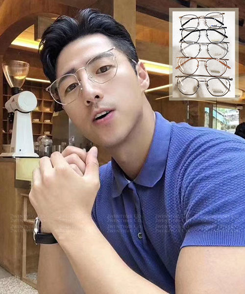 ★ 韓國 INS爆款 U're ★ 時尚超輕量平光眼鏡(五色) &加購眼鏡皮套