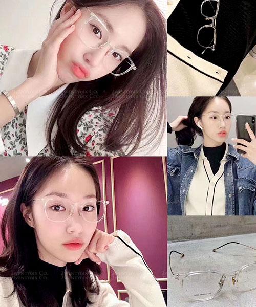 ★ 韓國 Amber LT ★ 超輕量不易變形平光眼鏡 (三色) &加購眼鏡皮套