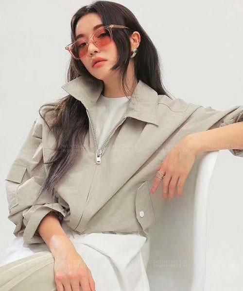 ★ 韓國 Jelly VC ★ 時尚透明果凍造型粗框眼鏡 (三色)&加購眼鏡皮套