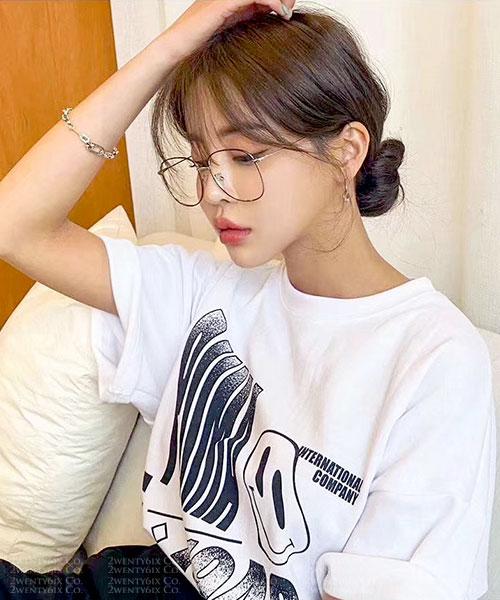 ★ 韓國 Wallis IC ★ 時尚透明果凍造型粗框眼鏡(三色) &加購眼鏡皮套