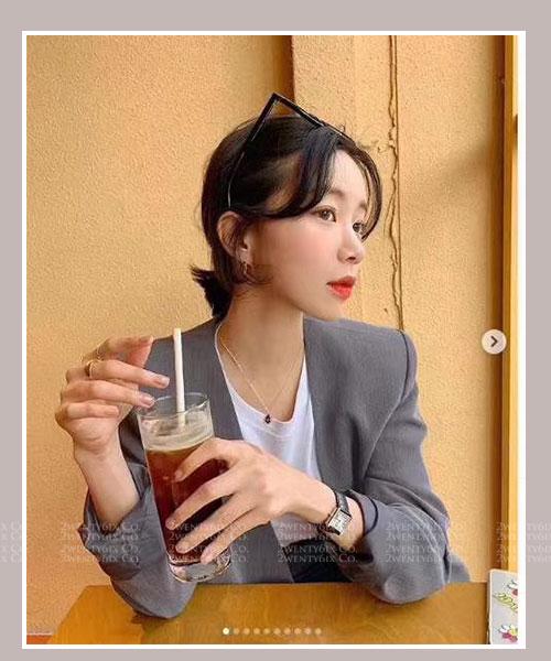 ★ 韓國 Wanda JD ★  輪廓微角度果 凍感鏡框平光眼鏡(四色) &加購眼鏡皮套