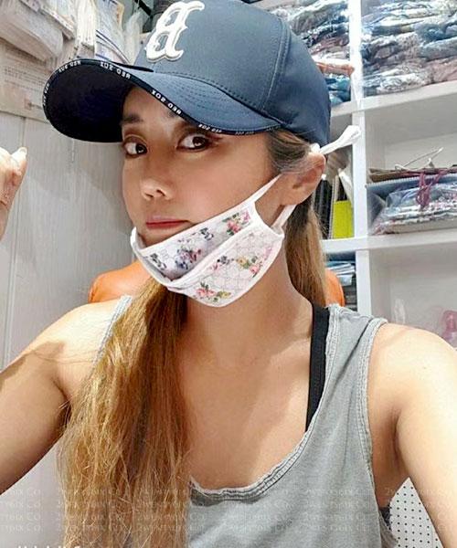 ★ 韓國獨家[防疫戰備] ★可水洗/可調整耳掛/造型棉口罩(內置濾心)(20款)