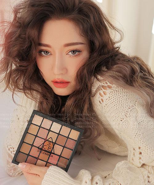★韓國 3CE ★ 十週年限量版 #MUSEDAY 超狂25色眼影盤!