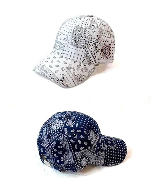 ★ 正韓 Mandala BC ★ 個性迷人曼陀羅花紋 可調整棒球帽 (兩色)