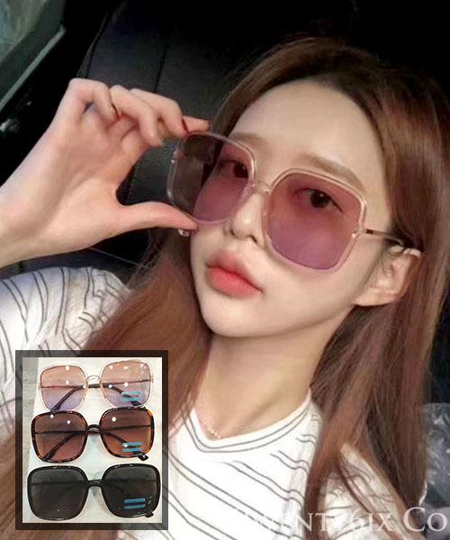 ★ 正韓 M.G.D. ★ 同款迪奧 黑色大框漸層色墨鏡 (UV400)(三色)