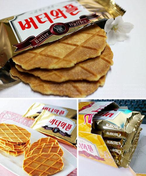 ★韓國Crown奶油鬆餅餅乾★《必買+爆好吃》巨無霸超大禮盒組 540g