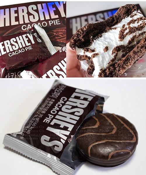 ★ 韓國 HERSHEY'S ★ 香濃美味 棉花糖巧克力派 420G (12入)