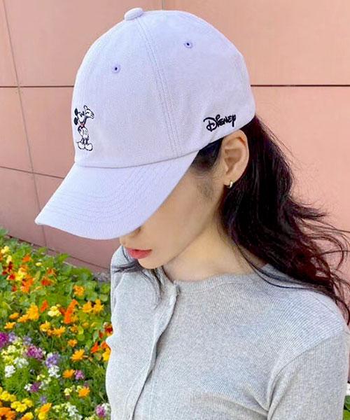 ★ 正韓 Disney Mickey ★ 超萌米奇 刺繡 顯瘦帽沿 棒球帽 (五色)
