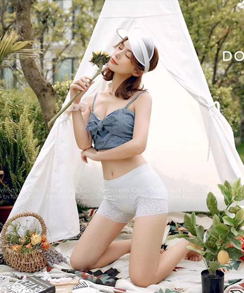 ★ 正韓 DominoMoco ★ Free-Cut  收腹提臀 女神安全褲 (四色)(40~80kg)