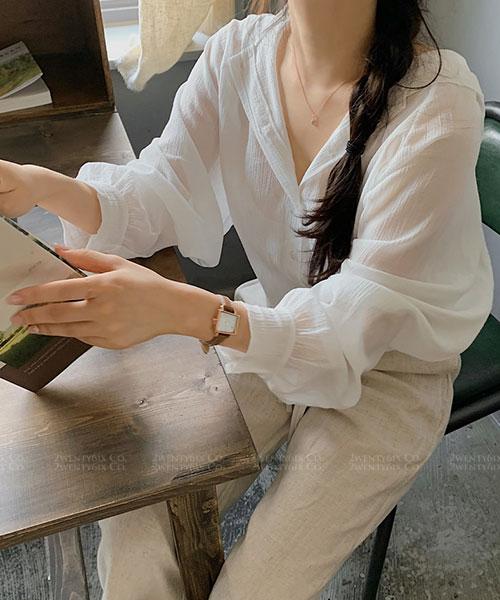 ★ 正韓 Mandy HD ★ 休閒甜美 排扣 純棉連帽上衣/小罩衫(三色