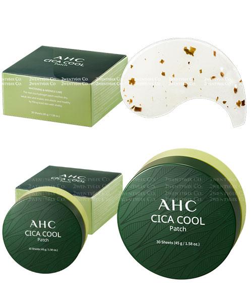 ★ 韓國  AHC ★ CICA 積雪草 冰涼舒緩 萬能貼/眼膜貼 30入