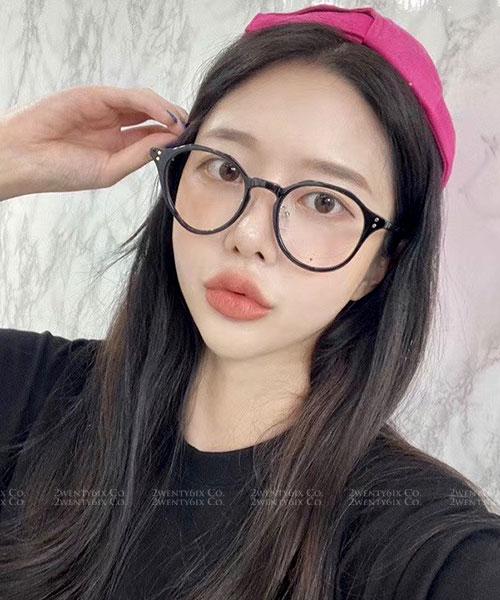 ★ 正韓 ★ INS火爆熱賣潮款 不規則邊框UV400平光眼鏡 (四色)