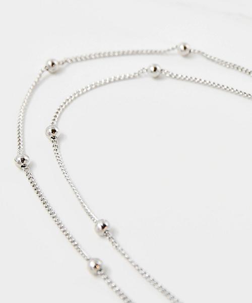 ★VENUSKISS★{925純銀}氣質設計師款  小巧串連圓珠項鍊