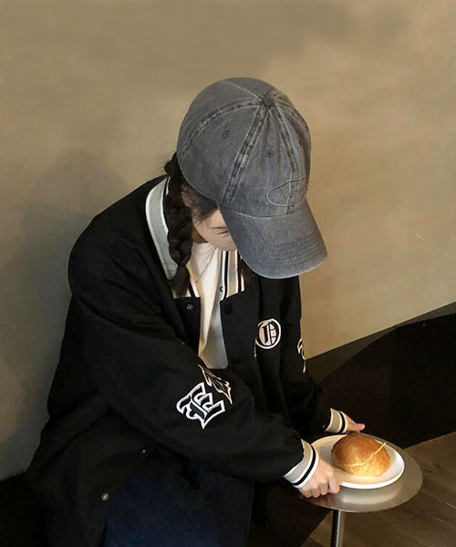 ★ 韓版 Academic Alfred ★ 休閒率性學院運動風 撞色領袖 鈕扣外套 (兩色)