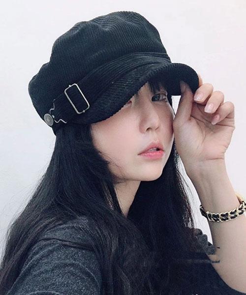 ★ 正韓 CtCCap ★ 時尚腰帶釦 硬式帽沿 海軍帽 (四色)