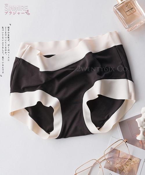 ★ 日本 SINMIRE ★ 女性零束縛 絲滑莫代爾艾草無痕內褲 (6色)