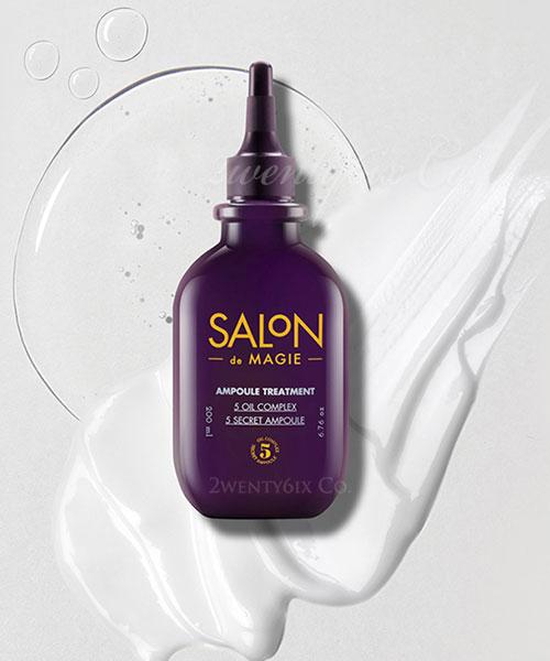 ★ 韓國 KERASYS ★ SALON de MAGIE 頂級沙龍魔法安瓶護髮膜 200ml