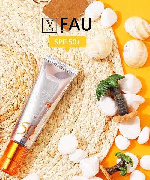 ★ 韓國 V [FAU]《夏日必備》★ Skin Solution 無懼豔陽 保濕精華霜 50g