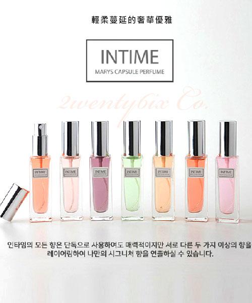 ★ 韓國 PerfumeHolic -INTIME ★ 輕柔奢華優雅淡香水 (紫水晶/晚香玉/小蒼蘭)