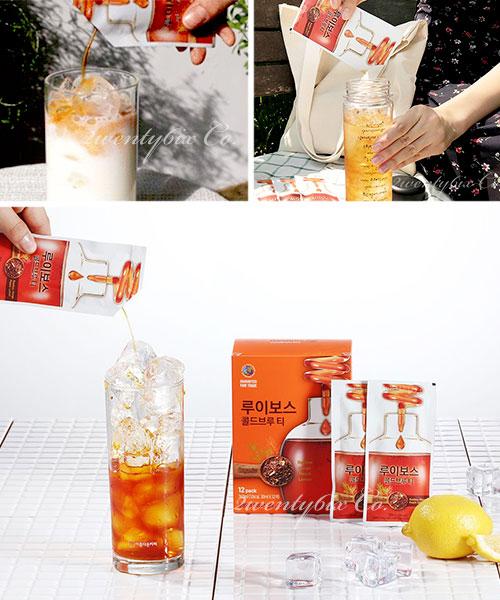 ★ 韓國 COLD BREWED ★ 清新獨特醇潤 冰釀冷萃 -冰滴茶 ( 無咖啡因 ) 30ml x 12包入