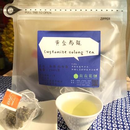 黃金烏龍茶包